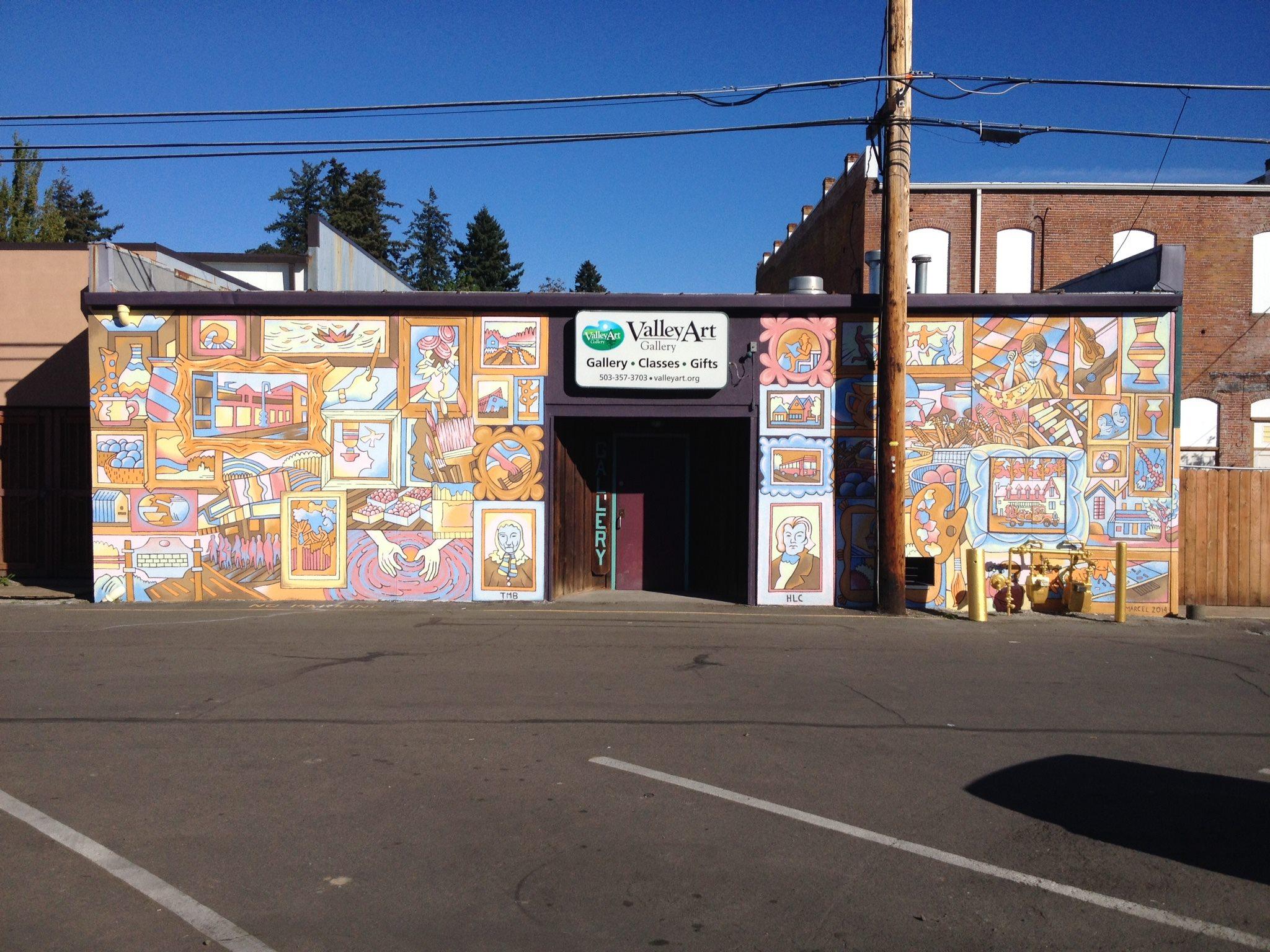 back mural