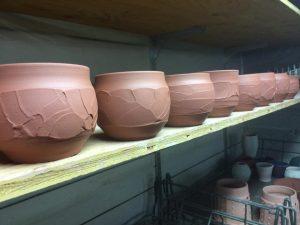 Clay bowls by Bob Hackney