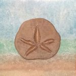 """Sand Dollar Serenity"" painting by April Hoff"