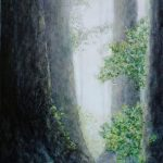 """Forest Peace"" painting by Susan Curington"