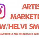 InstaMarketing for Artists – Jan 20